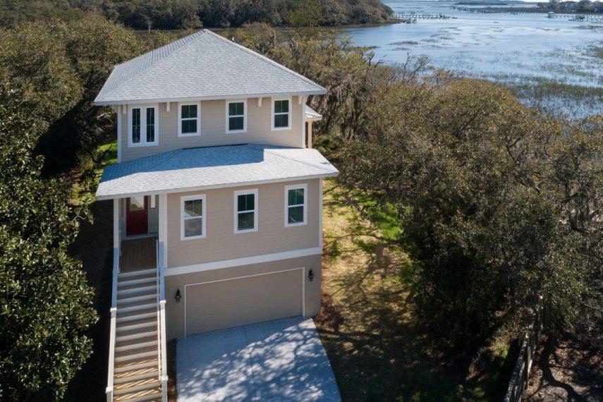 ROOKE Custom Home Builders Edisto Island SC Crystal Lake - Front Exterior