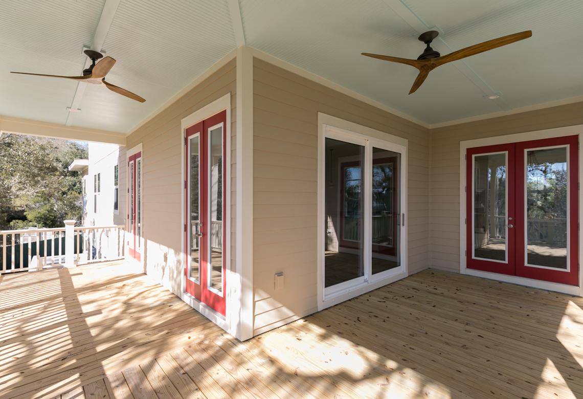 ROOKE Custom Home Builders Edisto Island SC Crystal Lake - Back Porch 1